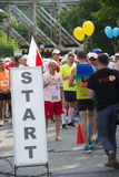 START sign for runners Stock Photography