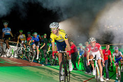 Start of Sixday nights Zurich Stock Photo