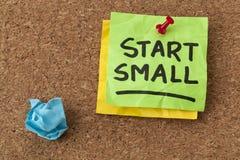 Start small advice Stock Photos