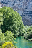 Start of the Sorgue River Stock Photos