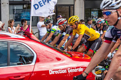 The Start of Stage 5 in Le Tour of France 2012 Stock Image