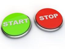 Start Stop Stock Photos