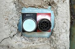 Start Stop Stock Image