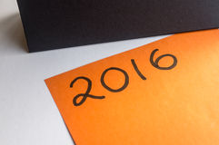 Start thinking of new year resolutions Royalty Free Stock Image