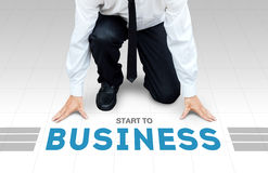 Start to work, ready begin to activity or business Royalty Free Stock Images
