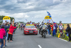 The Start of Tour de France 2016 Royalty Free Stock Photography