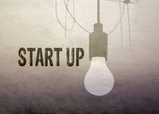 Start-up affärsidé Royaltyfri Fotografi