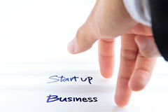 Start up business concept. Abstract image of start up business concept Stock Photo