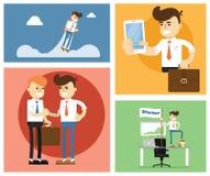 Start up business concept design. Flat design modern vector illustration of start up new business ideas, succed for website, printed materials and mobile apps vector illustration