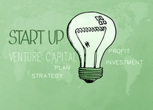 Start-up business concept Royalty Free Stock Photos