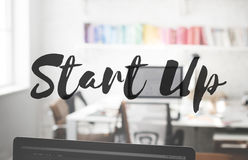 Start Up Business Enterprise Ideas Launch Mission Concept Royalty Free Stock Image