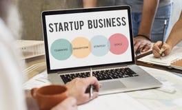 Start up Business Entrepreneur Concept. Start up Business Entrepreneur Strategy Royalty Free Stock Photo