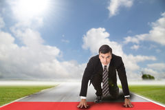 Start up business forward Royalty Free Stock Images