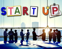 Start Up Business Growth Launch Aspiration Concept Stock Image