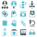 Start up business icons. Collection of 16 start up business icons Stock Photo