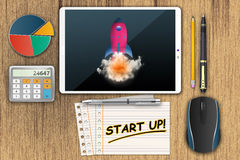 Start Up business launch Royalty Free Stock Image
