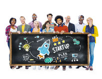 Start Up Business Launch Success Education Concept Stock Photography