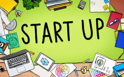 Start up Business Opportunity Development Success Concept Royalty Free Stock Photo