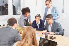 Start Up Business People In Strategy Meeting Stock Photos