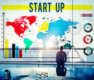 Start Up Business Plan Goals Growth Mission Concept Royalty Free Stock Image