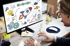 Start Up Business Strategy Growth Planning Concept Stock Images