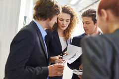 Start-up business team Royalty Free Stock Photo