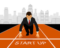 Start up in business Royalty Free Stock Image