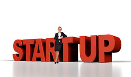 Start up concept Stock Photography