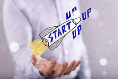 Concept of start up Stock Photo