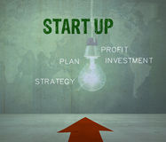 Start-up concept. Start-up - Business and Innovation Concept stock illustration