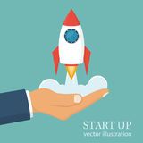 Start up concept. Royalty Free Stock Photo