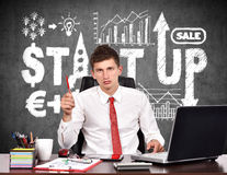 Start up concept Stock Photos