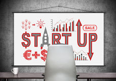 Start up concept Stock Image