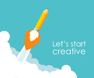 Start-up concept design Royalty Free Stock Photography