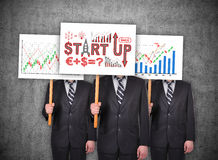 Start up concept Royalty Free Stock Photography