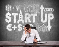 Start up concept Stock Images
