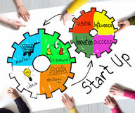 Start up concept Royalty Free Stock Image