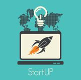 Start up concept Royalty Free Stock Photo