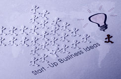 Start-up concept. Start-up - Business Ideas and Innovation Concept royalty free illustration