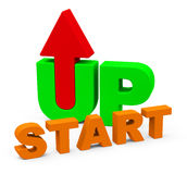 The start up Stock Photography
