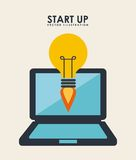 Start up design Royalty Free Stock Photography