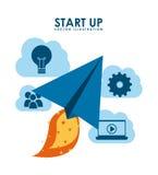 Start up design Stock Photography