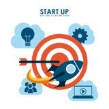Start up design vector illustration