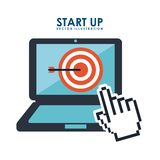 Start up design Royalty Free Stock Image