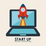 Start up design Royalty Free Stock Photo