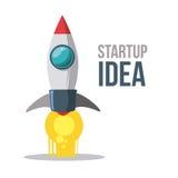 Start up design. Start up idea design, vector illustration eps 10 Royalty Free Stock Image