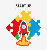 Start up design. Illustration eps10 graphic vector illustration