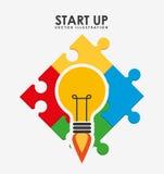 Start up design. Illustration eps10 graphic Stock Photo