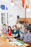 Start-up group as a team Stock Photo