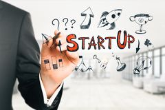 Start up and growth concept royalty free stock image